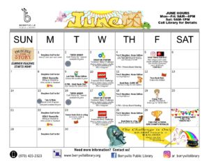 June program calendar