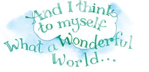 "lyrics to ""It's a Wonderful World"""