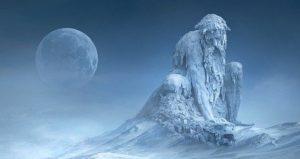 Illustration of Old Man Winter