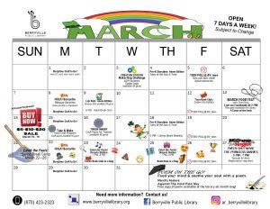 March Program Calendar
