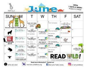 Berryville Library June Program Calendar